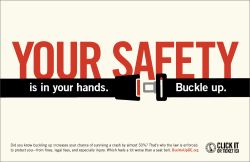 Click It or Ticket Poster